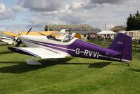 G-RVVI @ EGBR - Vans RV-6 at The Real Aeroplane Club's Wings & Wheels weekend, Breighton Airfield, September 2012. - by Malcolm Clarke