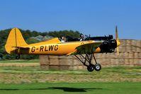G-RLWG @ BREIGHTON - Landing phase - by glider