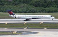 N901DA @ TPA - Delta MD-90