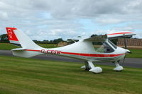 G-CESW @ EGBR - At the Real Aeroplane Club's Wings & Wheels fly-in, Breighton - by Chris Hall