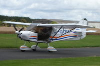 G-CFIA @ EGBR - At the Real Aeroplane Club's Wings & Wheels fly-in, Breighton - by Chris Hall