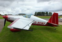 G-ROMP @ EGBR - At the Real Aeroplane Club's Wings & Wheels fly-in, Breighton - by Chris Hall
