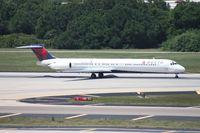 N994DL @ TPA - Delta MD-88 - by Florida Metal