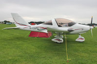 G-CGPO @ EGBK - A visitor to 2012 LAA Rally at Sywell