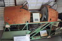 G-BHLT @ EGBK - Cockpit only in Sywell Air Museum