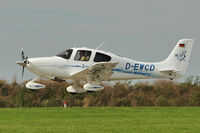 D-EWCD @ EGBK - A visitor to 2012 LAA Rally at Sywell - by Terry Fletcher