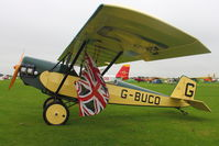 G-BUCO @ EGBK - A visitor to 2012 LAA Rally at Sywell