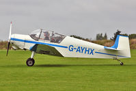G-AYHX @ EGBK - A visitor to 2012 LAA Rally at Sywell