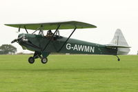 G-AWMN @ EGBK - A visitor to 2012 LAA Rally at Sywell