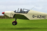 G-AZHC @ EGBK - A visitor to 2012 LAA Rally at Sywell - by Terry Fletcher