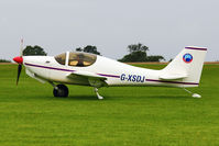G-XSDJ @ EGBK - A visitor to 2012 LAA Rally at Sywell