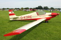 D-KORE @ EGBK - A visitor to 2012 LAA Rally at Sywell