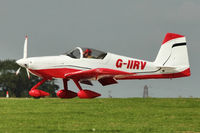 G-IIRV @ EGBK - A visitor to 2012 LAA Rally at Sywell - by Terry Fletcher