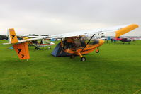 G-BZEZ @ EGBK - A visitor to 2012 LAA Rally at Sywell