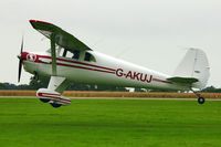 G-AKUJ @ EGBK - A visitor to 2012 LAA Rally at Sywell