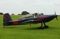 G-XSEA @ EGBK - A visitor to 2012 LAA Rally at Sywell