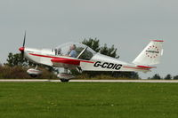 G-CDIG @ EGBK - A visitor to 2012 LAA Rally at Sywell - by Terry Fletcher