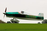 G-CGSU @ EGBK - A visitor to 2012 LAA Rally at Sywell