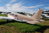 G-BSTV @ EGHP - At the Vintage Fly-in at Popham Sept '12 - by Noel Kearney