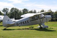 G-PAXX @ EGHP - Photographed at the Vintage Fly-in at Popham Airfield Sept '12 - by Noel Kearney