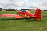 EI-VII @ EGBR - Vans RV-7 at The Real Aeroplane Club's Wings & Wheels weekend, Breighton Airfield, September 2012. - by Malcolm Clarke