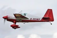 G-ROMP @ EGBR - Extra 230H at The Real Aeroplane Club's Summer Madness Fly-In, Breighton Airfield, August 2012. - by Malcolm Clarke