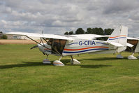 G-CFIA @ EGBR - Skyranger Swift 912S(1) at The Real Aeroplane Club's Wings & Wheels weekend, Breighton Airfield, September 2012. - by Malcolm Clarke