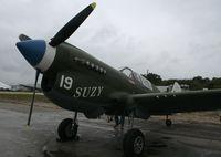 N49FG @ TIX - P-40 Warhawk