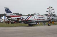 N86FR @ TIX - F-86F Sabre