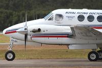 VH-FDA @ YBBN - RFDS Beechcraft King Air - by Thomas Ranner