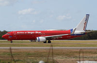 VH-VOX @ YBBN - Airline of Virgin Blue Boeing 737 - by Thomas Ranner