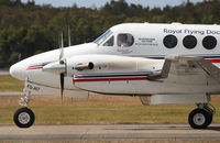 VH-FDI @ YBBN - RFDS Beechcraft King Air - by Thomas Ranner