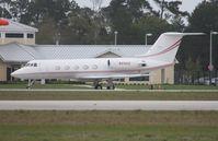 N416KD @ TIX - Gulfstream II