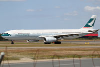 B-LAH @ YBBN - Cathay Pacific Airbus A330 - by Thomas Ranner