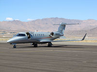 N480ES @ RTS - Bombardier Aerospace Learjet 45 pace plane for Jet Class on the active ramp @ on September 11, 2012 at Stead Airport during Reno Air Races