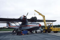 C-FMIR - Changing an engine  Nantes Airport - by Christian Vallantin