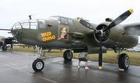 N7947C @ TIX - B-25 Wild Cargo