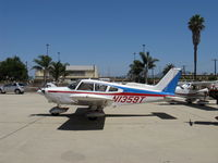 N1359T @ CMA - 1972 Piper PA-28-180 CHEROKEE, Lycoming O&VO-360 180 Hp - by Doug Robertson