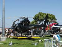 N36CD @ CMA - American Eurocopter AS350B SuperStar, one Turbomeca ARRIEL 2B 847 shp, 3-blade rotor, Hot & High optimized model - by Doug Robertson