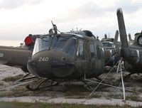 69-15240 @ MLB - UH-1H in storage - by Florida Metal