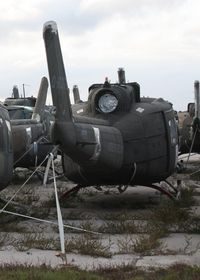 70-16372 @ MLB - UH-1H in storage Melbourne FL - by Florida Metal