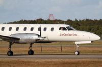 VH-TAO @ YBBN - Brindabella Airlines Fairchild (Swearingen) SA-227 Metro - by Thomas Ranner