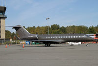 N711MC @ BLI - Drab but pleasing colors on this Global Express - by Duncan Kirk