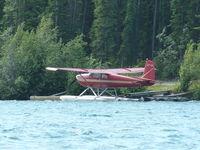 CF-IYI - On the Yukon River - by Bob White