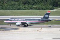 N123UW @ TPA - US Airways A320 - by Florida Metal