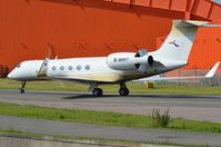 B-8097 @ EGGW - Deer Jet G5 in Luton for the 2012 Olympics - by FerryPNL