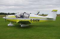G-BAEM @ EGSV - Just landed. - by Graham Reeve