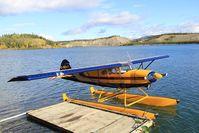 C-GBCF - Moored on Lake Schwatka - Whitehorse, Yukon. - by Murray Lundberg