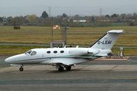 G-LEAI @ EGBJ - Cessna Citation Mustang [510-0052] Staverton~G 19/03/2010