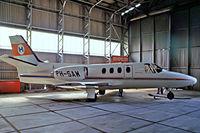 PH-SAW @ EHRD - Cessna Citation I [500-0225] (Schreiner Airways) Rotterdam~PH 29/08/1976
